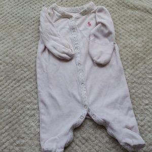 newborn polo onsie
